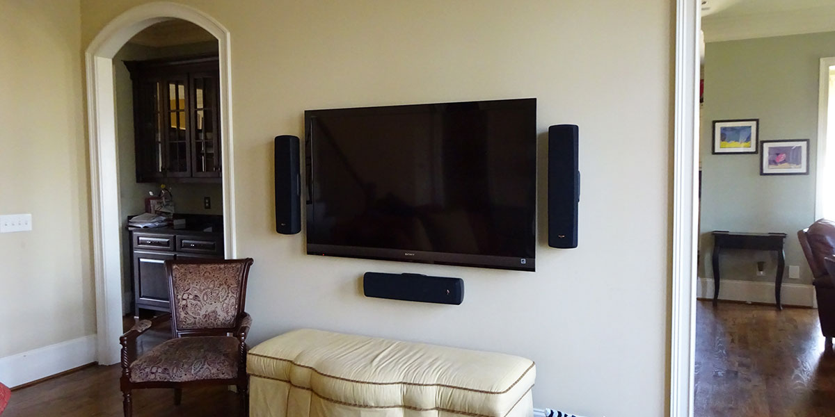 Home Theater Installation Greenville Sc