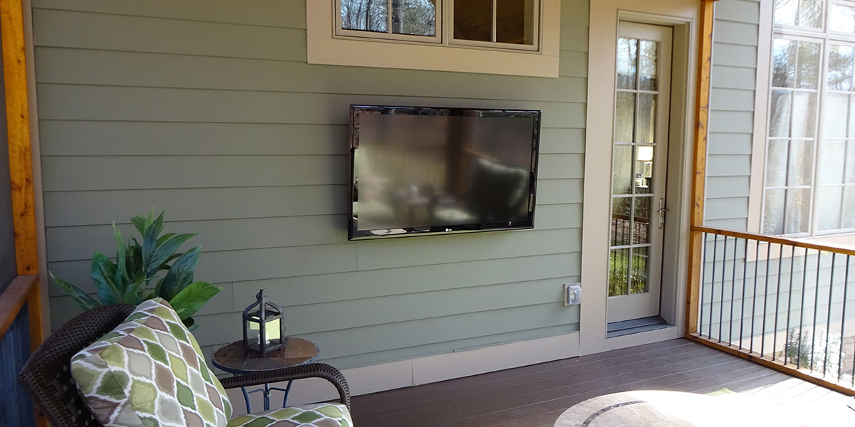 outdoor tv installation greenville, sc grand central wiring Electrical Conduit Installation