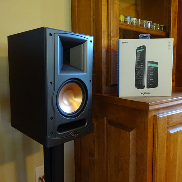 Home audio installation