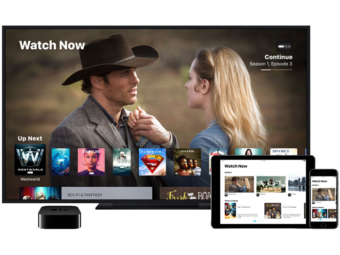 Apple TV 32GB movies