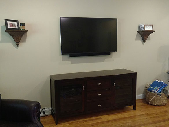 TV soundbar install review
