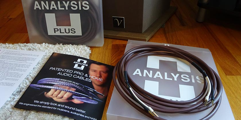 Analysis Plus Chocolotte Oval Speaker Cable