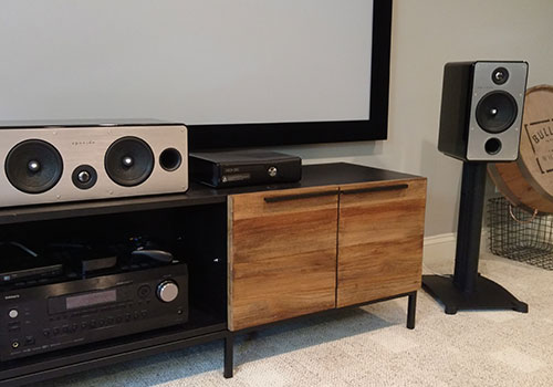 Movie Cinema Install Using Episode 700 Series Speakers