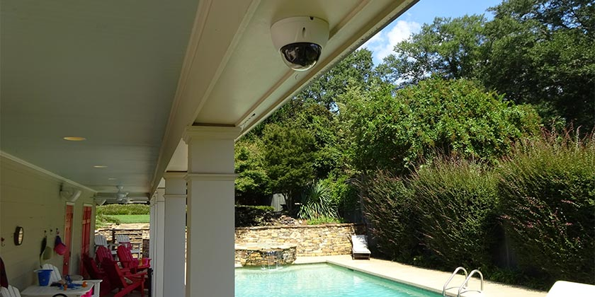 IC Realtime ICIP-D4732Z Dome Camera We Wired and Installed
