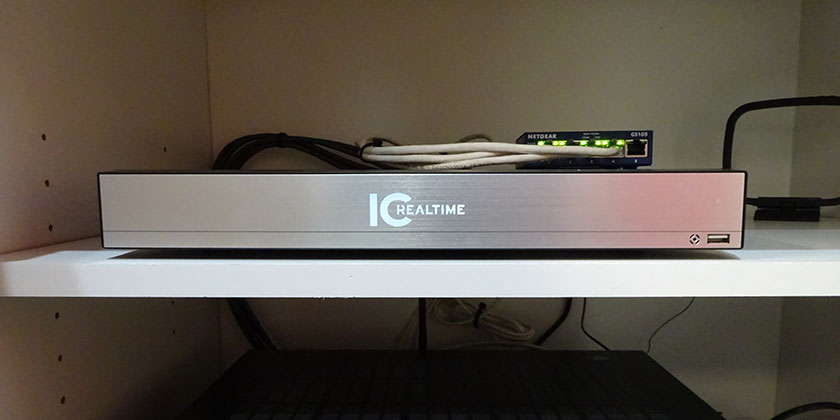 IC Realtime NVR-708NS (Network Video Recorder) We Installed
